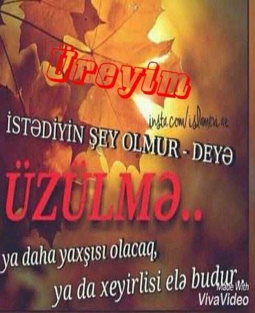 Göytəpə şəhərində İŞ AXDARIRAM