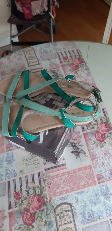 Sandale 40,malo veci kalup,kupljene u Barseloni,njihova marka Bijanco