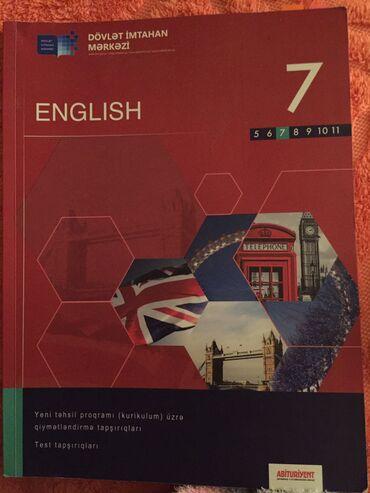 - Azərbaycan: DIM English Ingilis dili test kitabi 7 ci sinif 2019