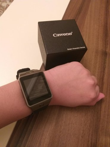 Dübəndida: Smart watch. Zəng whatsapp,twetter,facebook xüsusiyyəti var.Çox Az