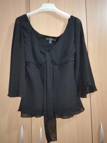H&M bluza,crna,velicina 38,rukavi su 3/4 - Cacak