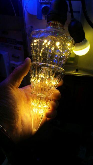 LED лампочки декоративные 250v цоколь E-27