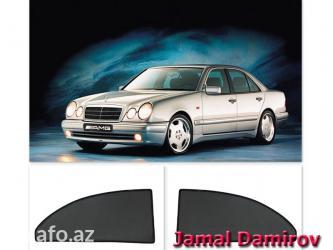 Bakı şəhərində Mercedes w210 e-class və hər növ avtomobil üçün pərdələr.