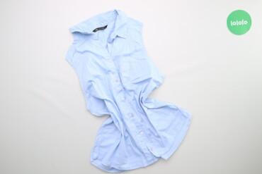 Рубашки и блузы - Цвет: Голубой - Киев: Жіноча сорочка без рукавів Terranova, p. M    Довжина: 61 см Ширина пл