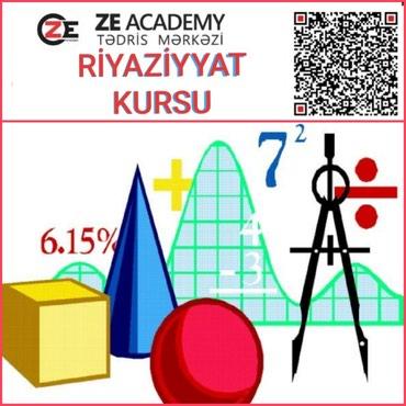 ali riyaziyyat - Azərbaycan: Riyaziyyat hazirligi kursu ZE Academy Tədris Mərkəzi riyaziyyat fənni