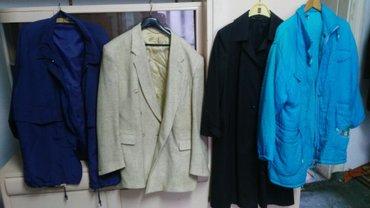Ženska odeća | Senta: Levi 48 oker 112 plavi mantil 48 desni isto odeca za zene