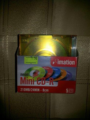 Bakı şəhərində Mini cd disklər 1 ədədi 1. 50 azn, blue- ray disk - 3. 50