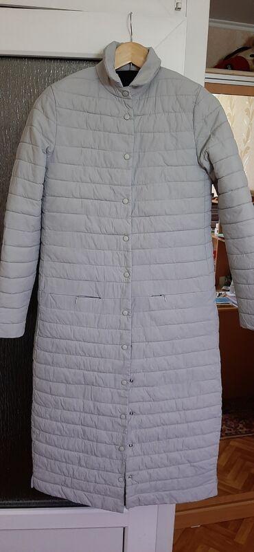 Длинная куртка на весну