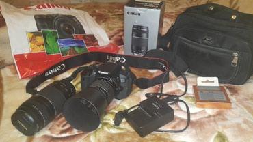 Naxçıvan şəhərində Fotoaparat DSLR satilir Canon EOS 650D.Az işlenib. üstünde 18-55