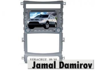 Bakı şəhərində Hyundai veracruz üçün dvd-monitor. Dvd-монитор для hyundai veracruz.