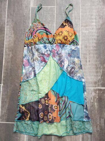 Haljine | Novi Banovci: Haljina ili tunika. Ima i postavu, bretele se podesavaju. Velicina s