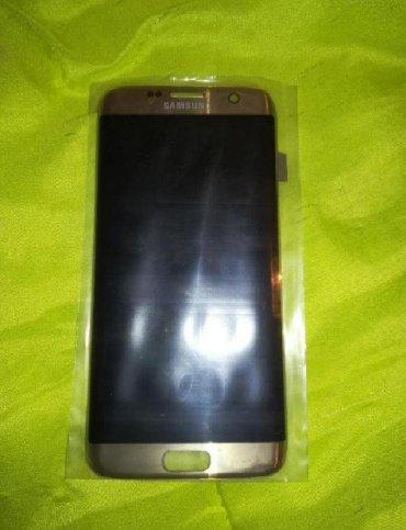 Γνήσια καινούρια οθόνη για Samsung Galaxy s7 edge,δώρο αυτοκόλλητα