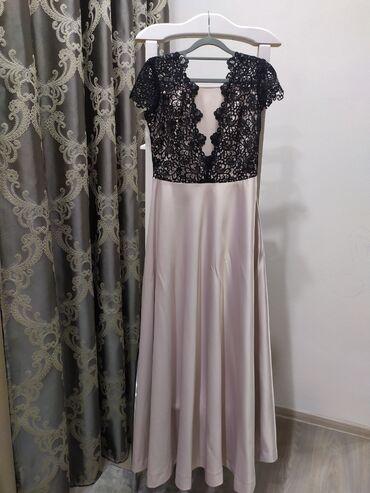 счастье в Кыргызстан: Платье было сшито на заказ. Гипюр Италия. Размер 44. Было надето всего