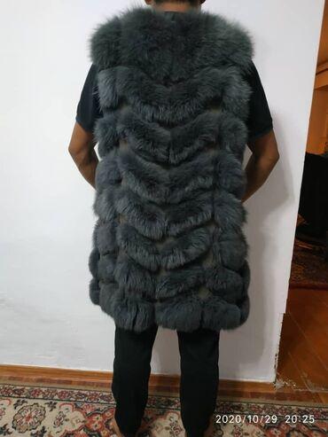 летнее платье 48 размера в Кыргызстан: Желетка б/у 48 размер!