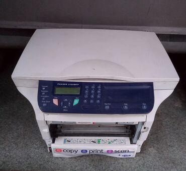 быстрые флешки в Кыргызстан: МФУ 3 в 1 принтер, сканер, ксерокс. Модель Xerox 3100.Лазерный