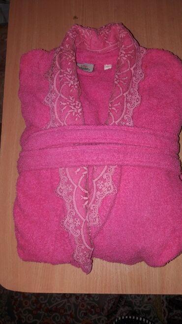 Продаю турецкий махровый халат.Почти новый