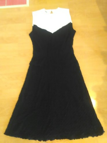 Obim-grudcm-duzina-cm - Srbija: Pamucna haljina. mnogo lepo stoji duzina 107cm obim grudi 80 cm obim