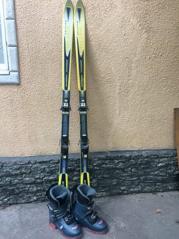 Продаю лыжи с ботинками) Размер 42-43! в Бишкек