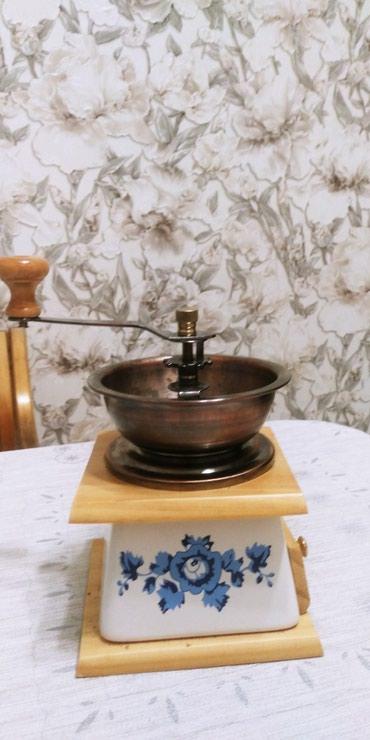 Кофеварки и кофемашины в Кыргызстан: Кофемолка механическая
