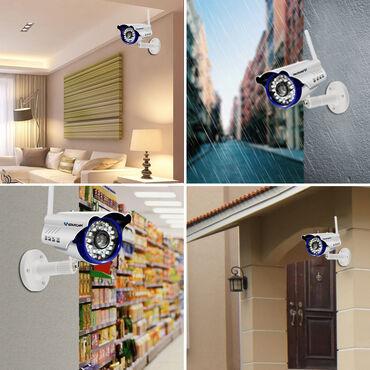 видеонаблюдение камера в Азербайджан: Уличная IP-камера видеонаблюдения VStracam C7815-WIPSheher ichi