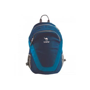 дорожная-сумка-орифлейм в Кыргызстан: Рюкзак CITY BLUE 22 - Tramp TRP-020Повседневный городской рюкзак Tramp
