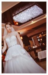 Продаю счастливое свадебное платье) в Бишкек