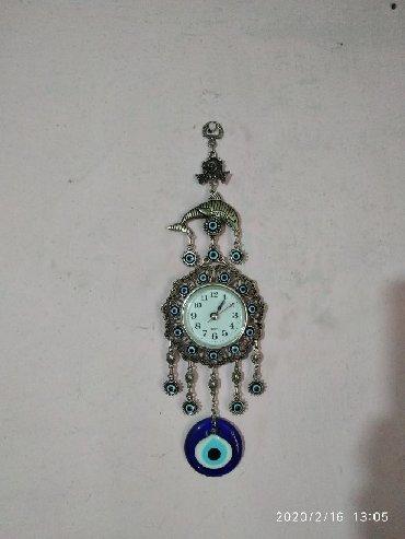 Часы для дома - Ак-Джол: Декоративные часы с глазками от сглаза интересный дизайн