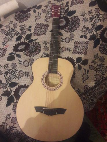 Срочно продаю гитара отличная состояния. новая (подарок чехол) в Теплоключенка