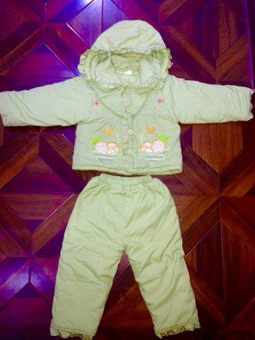 Продаю зимний комбенизон на девочку 3-4 года в хорошем состоянии в Бишкек