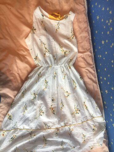 Нежная дышащая платья на лето  550 сом ХБ материал