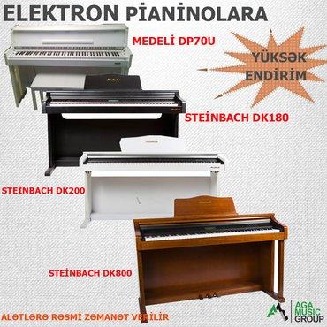 Bakı şəhərində Keyfiyyətli və zövqlü pianinolar istehsal edən steinbach. A, medeli.