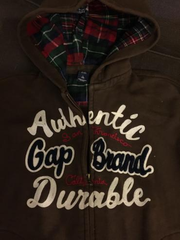Gap boys hoodie double face . Excellent condition . Age 10