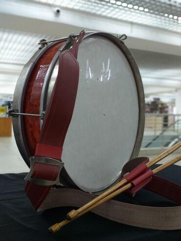 Барабан пионерский. Барабан у многих ассоциируется с детством