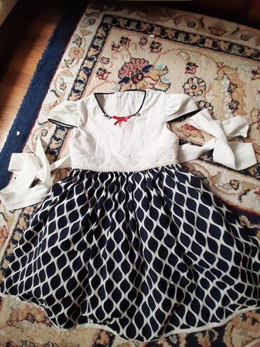 Детские платья в Кыргызстан: Продам красивое турецкое платье в отличном состоянии. Размер примерно