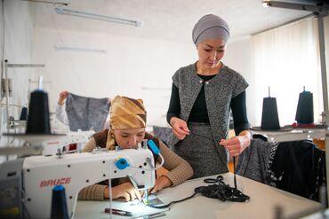 Швейное дело - Кыргызстан: Требуются опытные надомницы для шитья женских платьев модели лёгкие