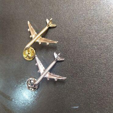 Значки самолётики
