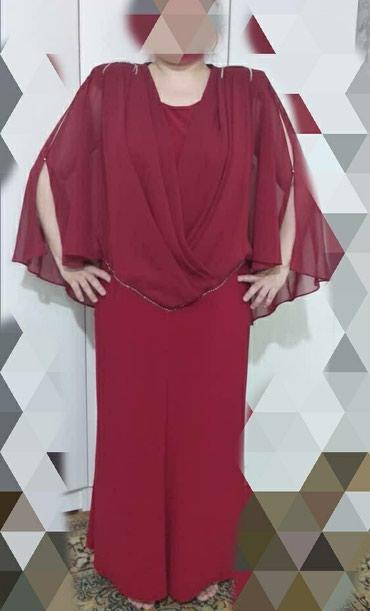 женское платье 56 размера в Кыргызстан: Осталось последнее!!! новое !!!вечернее, на плече стразы из
