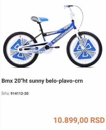 Bmx capriolo 200 Sunny kao na slikama. Vožen par puta . Kao nov! - Novi Sad - slika 6