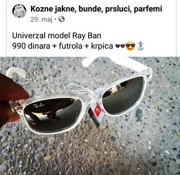 Naocare ray ban - Srbija: Ray Ban - NOVO Uz naocare dobijate futrolu i krpicu 990 din