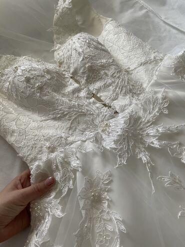 бисеры бишкек in Кыргызстан | ҮЙ ЖАНА БАКЧА ҮЧҮН БАШКА БУЮМДАР: Дизайнерское свадебное платье   Платье из итальянского кружева, расши