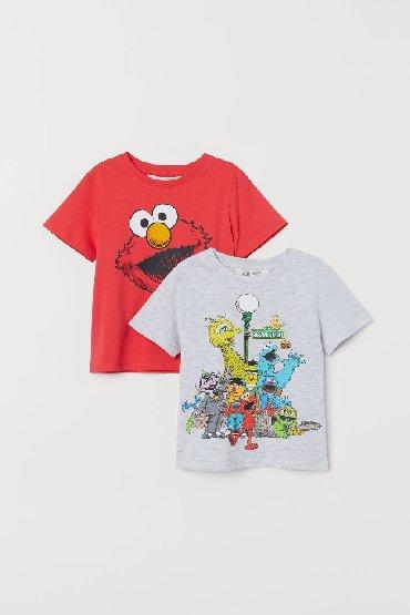 Детские топы и рубашки в Кыргызстан: H&M футболки, новые, размер: 6-8 и 8-10лет