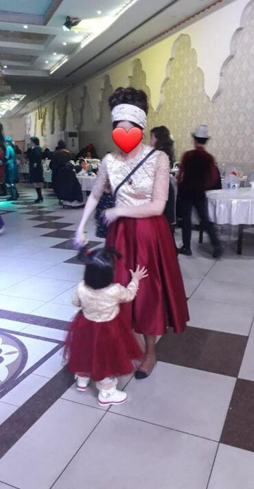 платье мама и дочь в Кыргызстан: Продаю платья мама дочка 44р