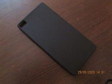 Maska za Huawei p8 lite Nekorišena uopšte,mat crna boja Stanje novo