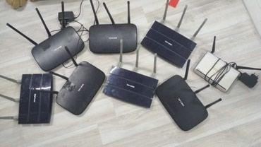 модем-роутер-цена в Кыргызстан: Wi fi роутеры трёх антенные с коробкамисостояние идеальное почти все