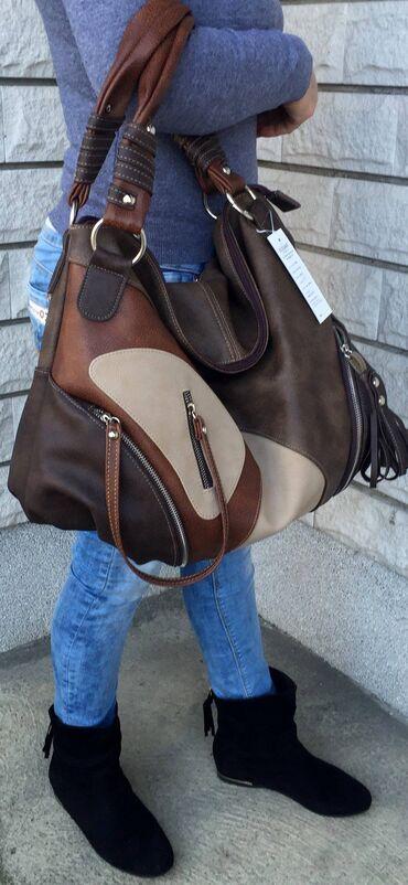 Prelepaaaa velika torba,NOVOJedna izuzetno lepa i moderna veca torbaZa