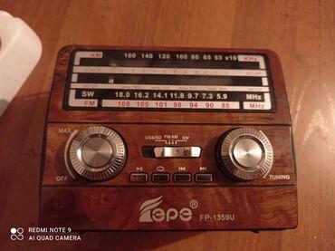 Продается колонка радио аукс флешка, нужна зарядка