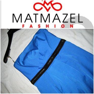 *** MATMAZEL *** cobalt plava 40 nenosena  Top haljina brenda - Beograd