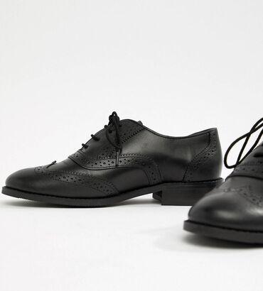 Оксфорды - Бишкек: Продаю новые кожаные броги, ботинки, оксфорды. Не подошёл размер. Отли