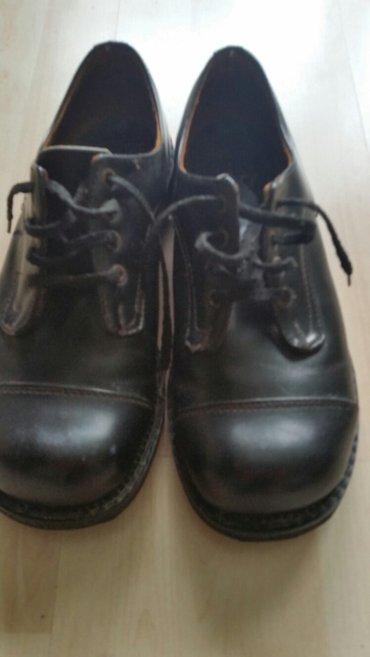 Zenske kozne cipele donete iz francuske. ocuvane. broj 40. - Indija