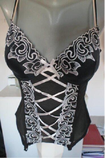 Sexy-roze-korset - Srbija: Crno beli sexy korset S/MCrno beli korset, tegljiv vrlo udoban